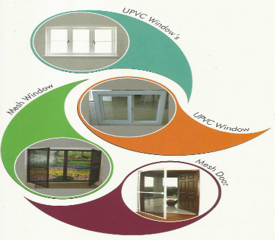 UPVC windows and Mesh doors