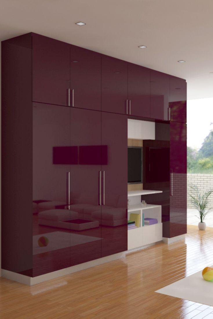 Study Room Layout: Modular Kitchen
